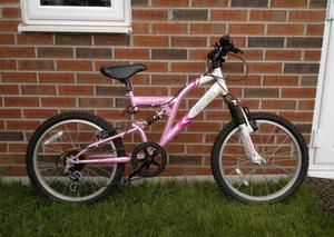 Girl Used Bicycle Vertigo Vesuvius