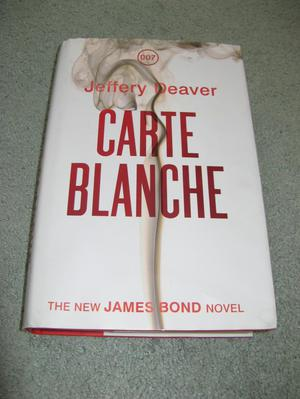 James Bond 007 Carte Blanche Novel