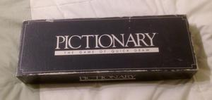 Pictionary The Game Of Quick Draw Board Game by Parker  Complete.