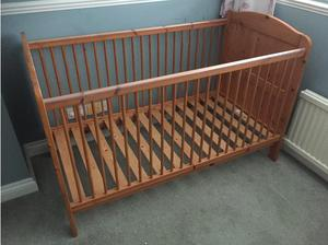 Pine Cot Bed in Abingdon
