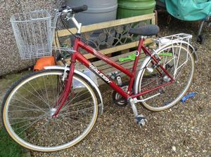 Raleigh pioneer 120 ladies bicycle