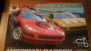 Scalextric micro american racers edition