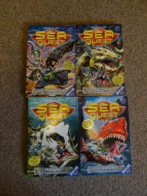 Sea Quest books 1-4 (Adam Blade)