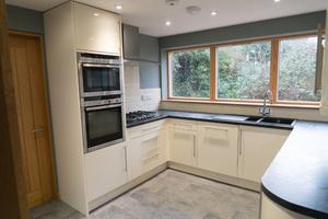 Used Kitchen with worktop, units and appliances