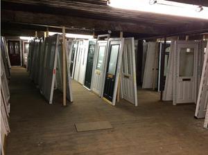 Composite Doors from The Door Store Grey Black White