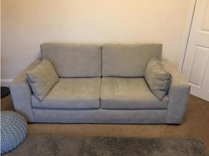 Heart of house grey sofa in Mansfield