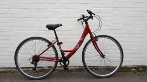 Apollo Café Womens City Hybrid Bike. 2 Yrs Old, Part Serviced Good Condition, Plus Lock