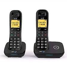 BT Twin Digital Cordless Phone with Nuisance Call Blocker Brand New Boxed