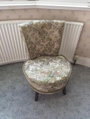 Beautiful vintage nursing chair
