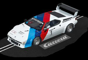 "Carrera  Digital 132 BMW M1 Procar "" ANDRETTI, no.01 "","