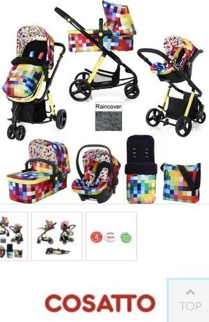 Cossatto pixalate travel system.