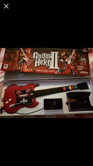 Guitar Hero 2 Game and guitar
