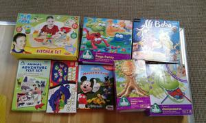 "Selection of chikdren""s board games"