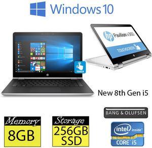 "HP x-ba104na 14"" Touchscreen 8th Gen Quad Core"