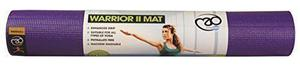 Yoga-Mad Women's Warrior ll Yoga Mat - Purple, 4 mm