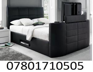 BED BRAND NEW ELECTRIC TV BED AND STORAGE 205