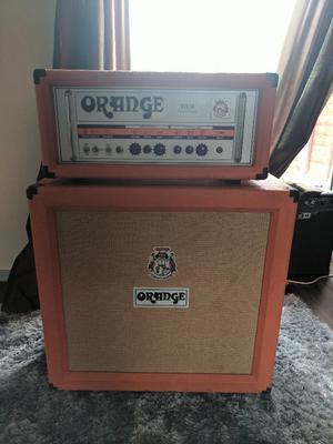 Orange TH30 Guitar Valve Amp Head + PPC410 Speaker Cabinet