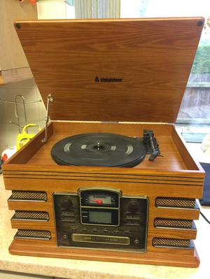 Record Player/ CD & Tape Player