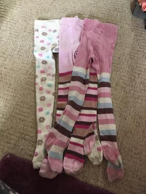 3 pairs of tights