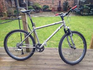 Airborne titanium mountain bike