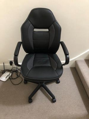 Argos - Mid Back Office Gaming Chair - Black