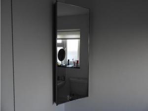 Bathroom Corner Cabinet / All Stainless Steel in Exeter