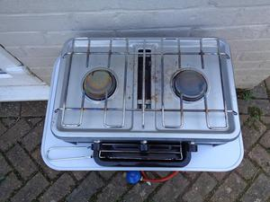 Camping Gas Cooker and Table