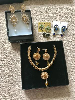 Ethnic/Asian party jewellery - brand new never used