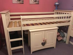 European single bed with memory foam mattress