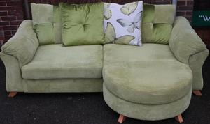 Green Chaise-End Sofa