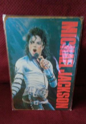 "NEW ! 8X12 METAL SIGN MICHAEL JACKSON ""THE KING OF POP'"