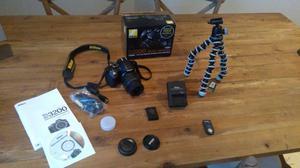 Nikon D Digital SLR Camera with mm VR Lens Kit (16GB Card + JOBY Gorillapod + IR Remote)