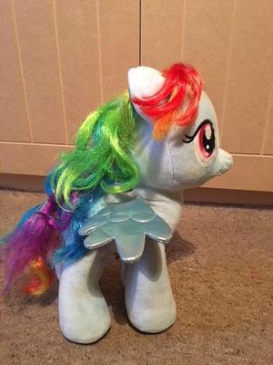Rainbow Dash My Little Pony plush toy