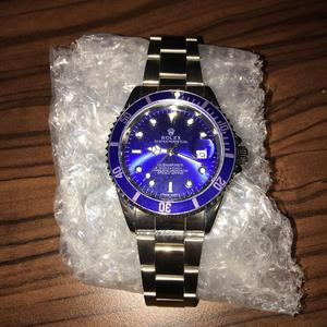 Rolex Oyster Perpetual Submariner Blue Faced