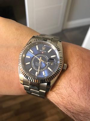 Rolex Sky-Dweller Stainless Steel BLUE