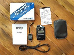 Sekonic flash meter L-308S as new