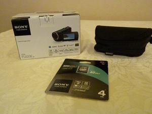 Sony Handycam HDR-PJ220E (Brand New) + Accessories