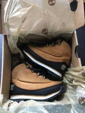 Timberland infant boys boots boxed