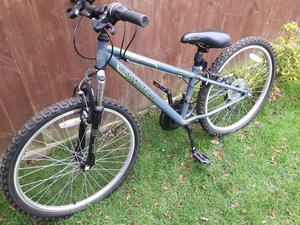 Apollo Switch Junior Mountain Bike and Bike Rack
