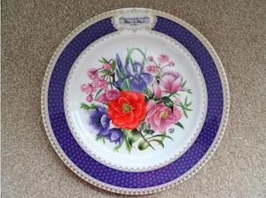 Aynsley RHS Chelsea Flower Show Plate in Swansea