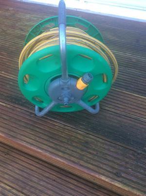 Hoselock Garden Hose &Reel, Karcher K2 Pressure Washer and Deck Scrubber, Ronseal Fence Spray