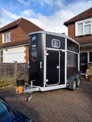 Ifor Williams 506 Double Horse Trailer  Black