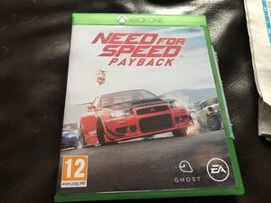 New Xbox one game for sale need for speed payback bargain £35