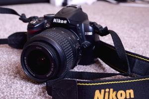 Nikon D Digital SLR Camera + mm lens