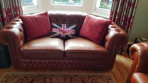 Pair of Chesterfield sofas - £950 for the pair