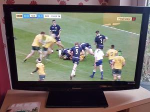 "Panasonic veria TX-P42C"" inch Full HD p TV"