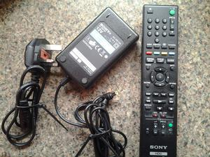 Power Unit for Sony HDT 500 TV Recorder, + Remote Control. Fully Working. COLLECT KIRKBY NG17