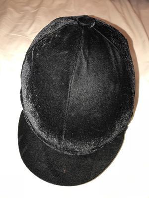 Riding Hat Silk Skull Cap Cover Navy Blue Posot Class