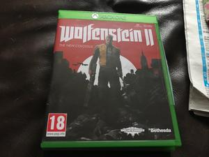 Xbox one game for sale wolfverstein 2 the new colossus £20