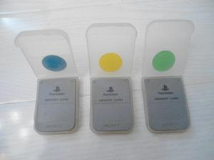 ps1 official playstation memory cards